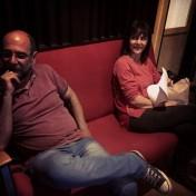EFrank e a cantora portuguesa Eugênia Melo e Castro