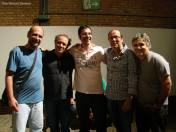 Músicos da banda de Fernando Sodré